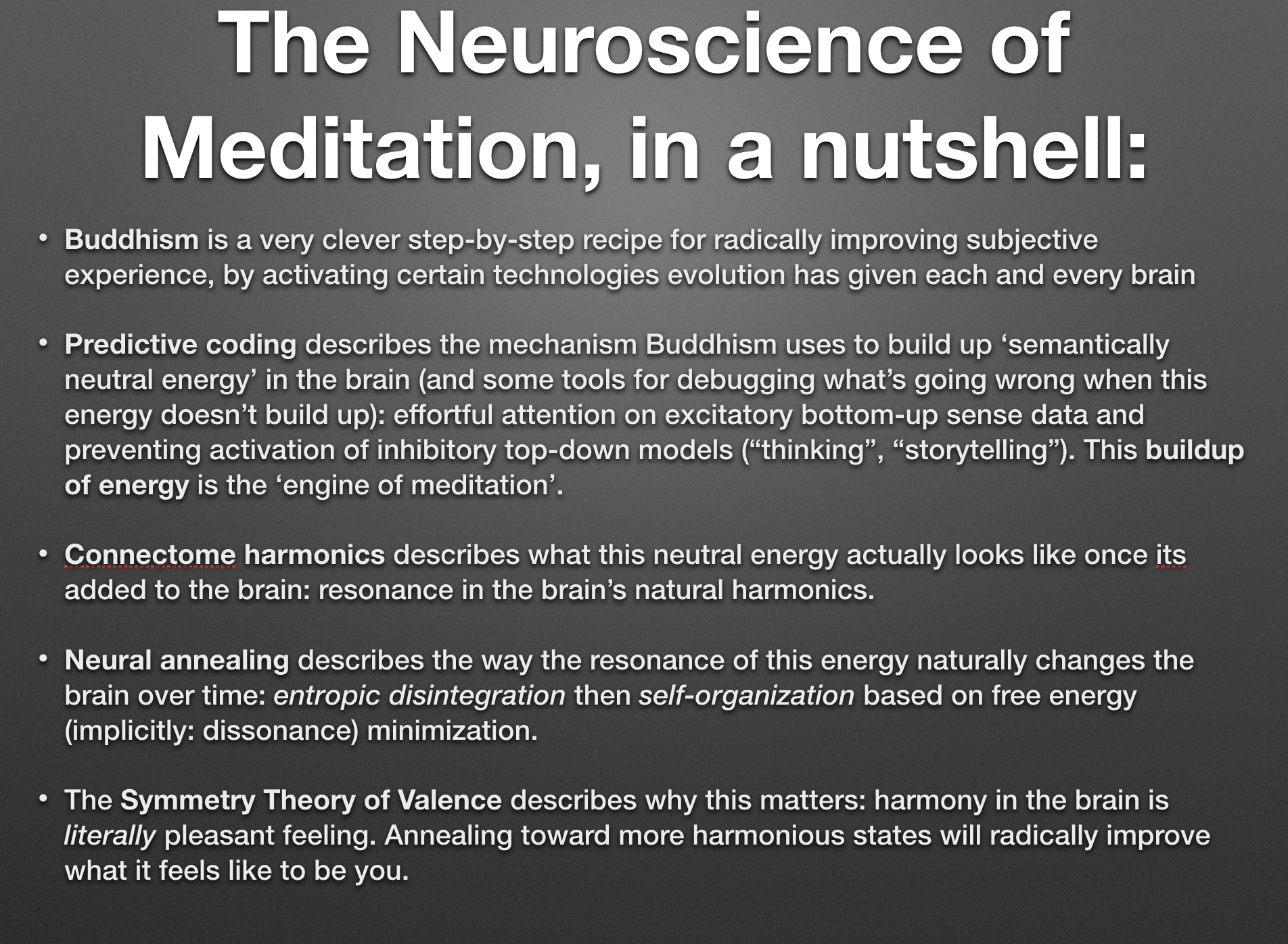 The Neuroscience of Meditation: Four Models | Opentheory net